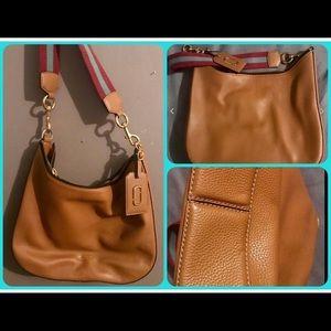 Marc Jacobs New York tan leather bag
